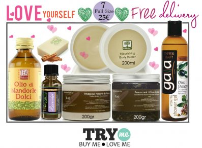 Organic Beauty Box - Love Yourself Try Me Kit