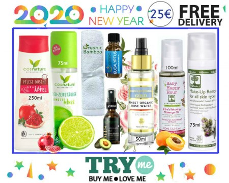 SOLD OUT! Organic Beauty Box 2020 Try Me Kit