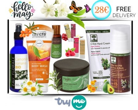 SOLD OUT! Organic Beauty Box - Hello May Try Me Kit