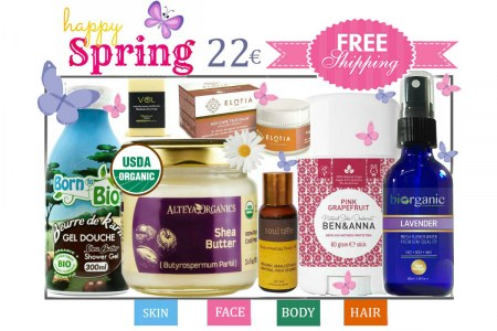 SOULD OUT! Organic Beauty Box - Happy Spring Try Me Kit