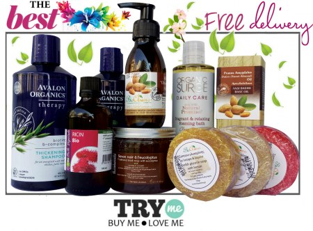 SOLD OUT Organic Beauty Box - The Best Try Me Kit