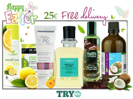 SOLD OUT! Organic Beauty Box - Happy Easter Try Me Kit
