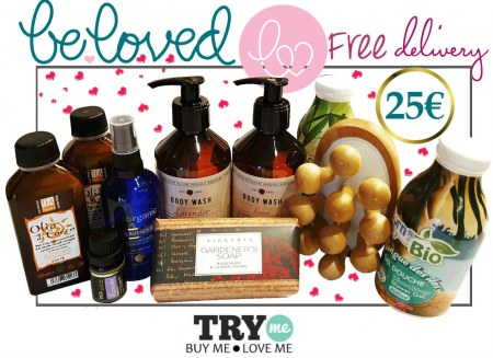 Sold out - Organic Beauty Box -  Be Loved Try Me Kit