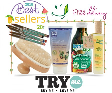 Sold Out- Organic Beauty Box - Best Sellers Try Me Kit