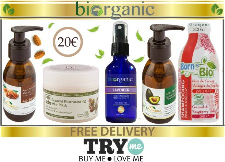 Sold Out - Organic Beauty Box -  Biorganic Try Me Kit
