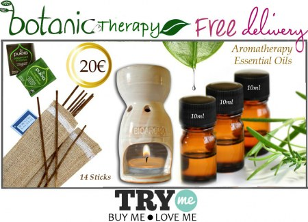 Sold Out - Organic Beauty Box -  Botanic Therapy Try Me Kit