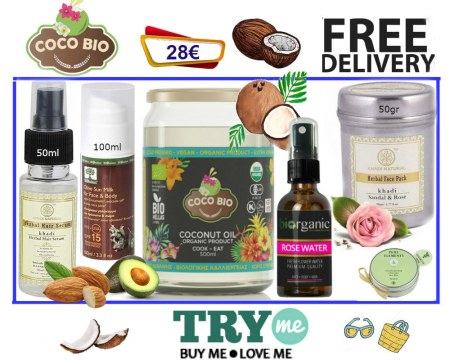 SOLD OUT!Organic Beauty Box - Cocobio Try Me Kit
