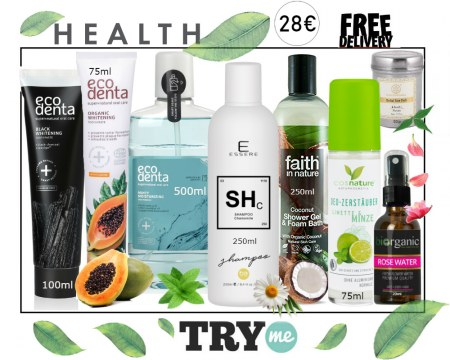 SOLD OUT! Organic Beauty Box -  Health Try Me Kit