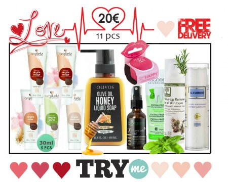 SOLD OUT! Organic Beauty Box - Love Try Me Kit
