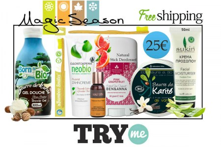 SOLD OUT! Organic Beauty Box! Magic Season Try Me Kit