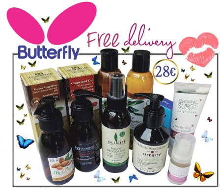 SOLD OUT! -  Organic Beauty Box -  Butterfly Try Me Kit