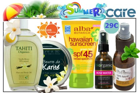SOLD OUT!!! Organic Beauty Box! Summer Care Try Me Kit