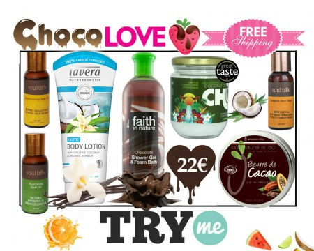 SOLD OUT!!! Organic Beauty Box! Choco Love Try Me Kit
