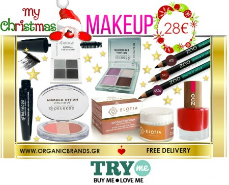 SOLD OUT! Organic Beauty Box - My Christmas Make Up​ Beauty Box! Best Sellers!