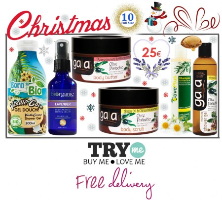 Sold Out - Organic Beauty Box -  Christmas Try Me Kit