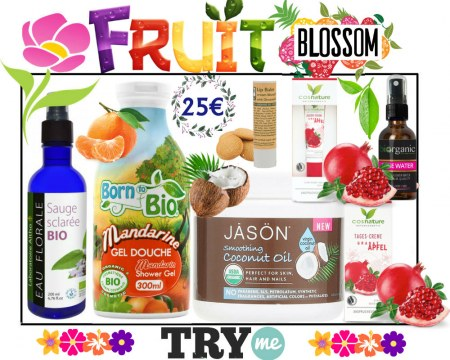 SOLD OUT! Organic Beauty Box - Fruit Blossom Try Me Kit