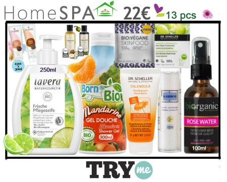 SOLD OUT! Organic Beauty Box! Home Spa Try Me Kit