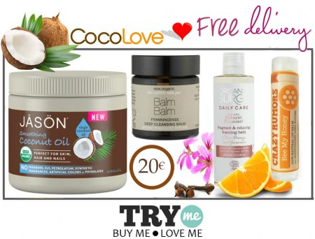 Sold Out - Organic Beauty Box -  Coco Love Try Me Kit