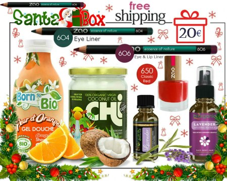 SOLD OUT! Organic Beauty Box  Santa Box Try Me Kit