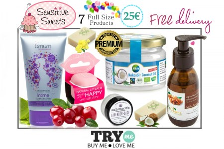 SOLD OUT!  Organic Beauty Box - Sensitive Sweets Try Me Kit