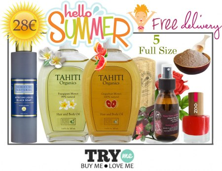 Sold Out Organic Beauty Box  Hello Summer Try Me Kit