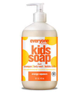 Everyone for Every Body - Παιδικό 3σε1 Σαμπουάν-Αφρόλουτρο Orange Squeeze / Kids 3-in-1 Soap Orange Squeeze