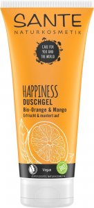 Sante – HAPPINESS Organic Orange & Mango Shower Gel