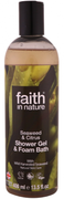 Faith In Nature -  Citrus & Seaweed Shower Gel & Foam Bath