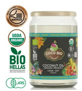 Coco Bio – Organic Extra Virgin Coconut Oil
