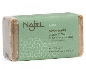 Najel - Σαπούνι Χαλεπίου με Μέλι / Aleppo Soap with Honey