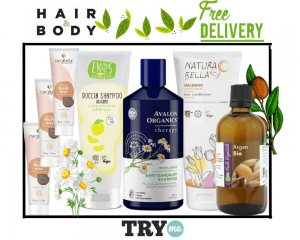 Organic Beauty Box - Hair & Body