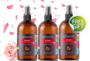 Biorganic SPECIAL OFFER 2+1 - 100% Rose Water