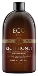 Eco by Sonya - Rich Honey Organic Tan Solution