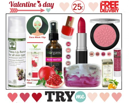 SOLD OUT - Organic Beauty Box  - Valentine's Day Try me Kit