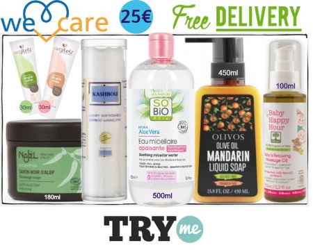 SOLD OUT! Organic Beauty Box! We Care Try Me Kit